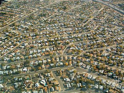 Suburbs Of Las Vegas Poster by Novastock