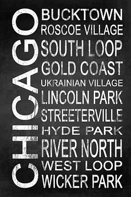 Subway Chicago 2 Poster