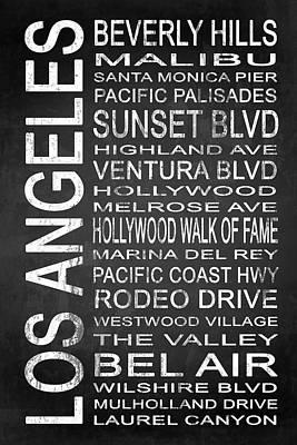 Subway Los Angeles 2 Poster