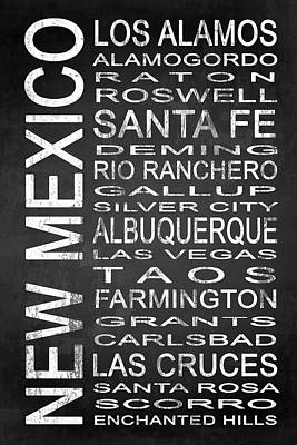 Subway New Mexico State 1 Poster by Melissa Smith