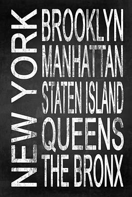 Subway New York 4 Poster by Melissa Smith