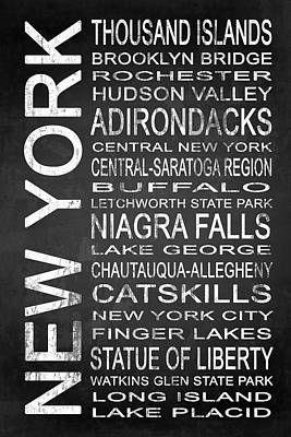 Subway New York State 4 Poster by Melissa Smith