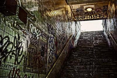 Subway Portal - New York Poster by Daniel Hagerman