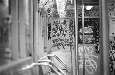 Poster featuring the photograph Subway by Steven Macanka
