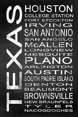 Subway Texas State 1 Poster