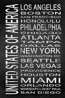 Subway United States 1 Poster by Melissa Smith