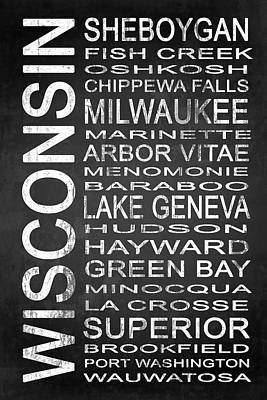 Subway Wisconsin State 2 Poster