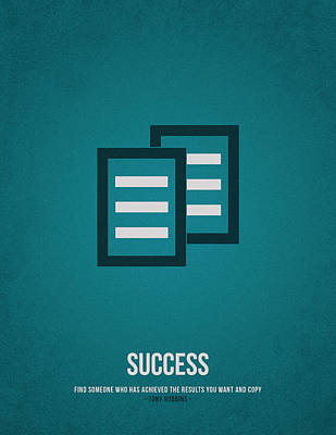 Success Poster by Aged Pixel