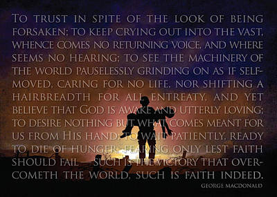 Such Is Faith Poster