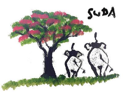 Suda Pink Version Poster