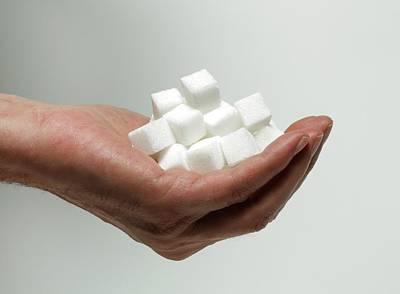 Sugar Consumption Poster by Victor De Schwanberg