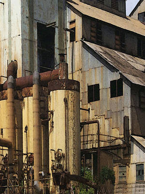 Sugar Factory Poster by David Hansen