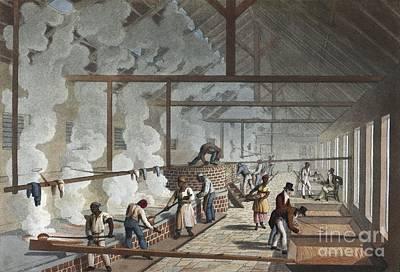 Sugar Factory In Antigua, 1820s Poster