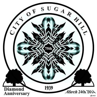 Sugar Hill Ga 75th Anniversary Poster