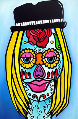 Sugar Skulls 2 By Fidostudio Poster by Tom Fedro - Fidostudio