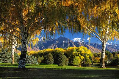Sugarhouse Park Salt Lake City Ut Poster