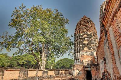 Sukhothai Historical Park - Sukhothai Thailand - 011362 Poster by DC Photographer