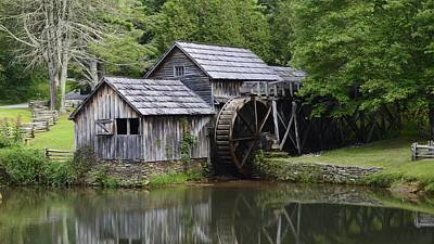 Summer At Mabry Mill Poster