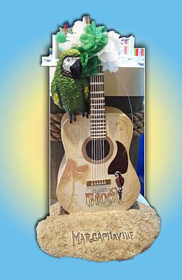 Summer Guitar Poster