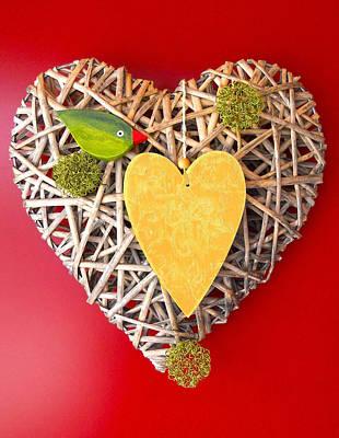 Summer Heart Poster by Juergen Weiss