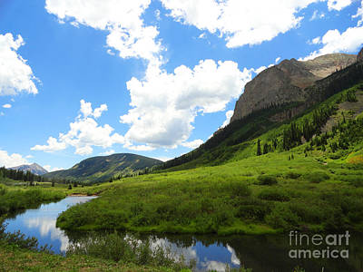 Summer In Crested Butte Poster