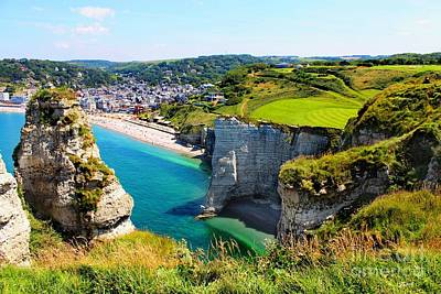 Summer In Normandy Poster