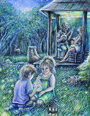 Summer Lights Poster by Gail Butler