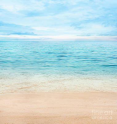 Summer Ocean Poster by Mythja  Photography
