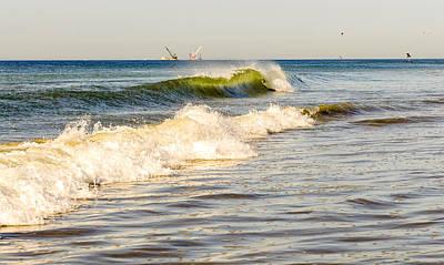 Summer Ocean Scene 1 Poster