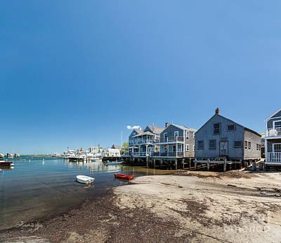 Summer On Nantucket Island Poster