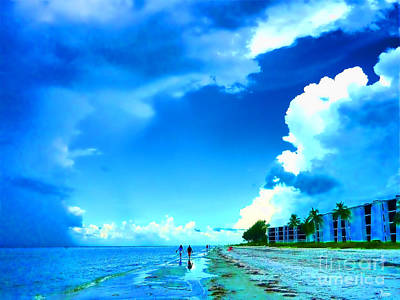Summer On Sanibel Island Poster by Jeff Breiman
