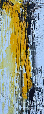 Summer Rein- Abstract Poster by Ismeta Gruenwald