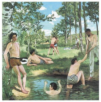 Summer Scene Poster