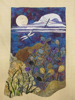 Summer Twilight Poster by Lynda K Boardman