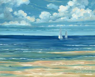 Summerset Sailboats Poster