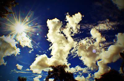Sun Bubbles Poster