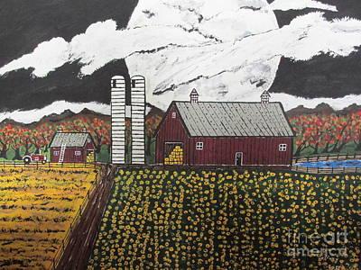 Sun Flower Farm Poster by Jeffrey Koss