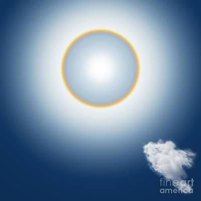 Sun Halo Poster