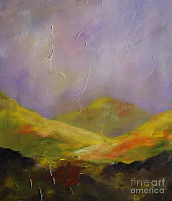 Sun Kissed Connemara Poster by Lynda Cookson