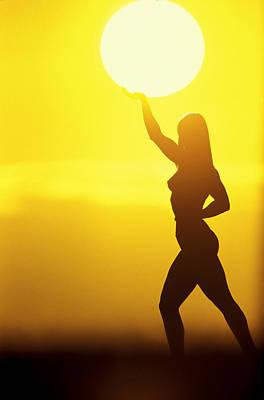 Sun Lifter Poster by Sean Davey