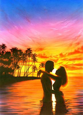 Sun Lovers Sun Worshippers Poster