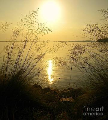 Sun Over Lake Murray Poster