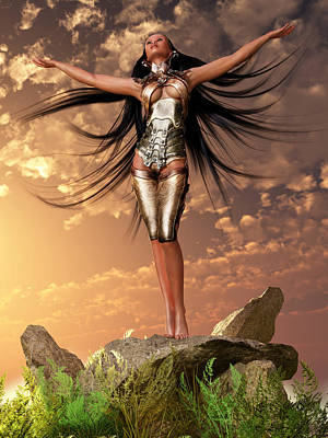 Sun Priestess 2 Poster