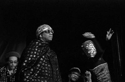 Sun Ra Marches Poster by Lee  Santa
