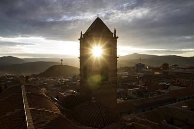 Sun Tower Of Potosi Poster