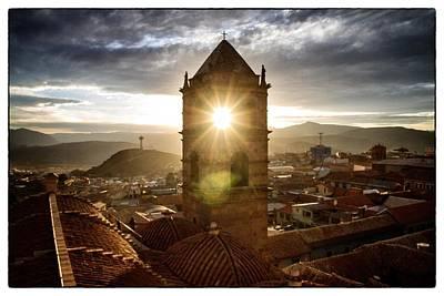 Sun Tower Of Potosi Framed Poster