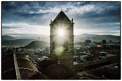 Sun Tower Of Potosi Vintage Poster