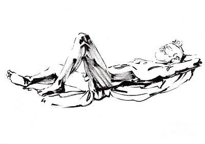 Sunbath Poster by Konstantin Boreo