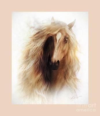 Sundance Mustang Frame Poster