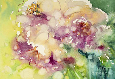 Sundappled Rose Poster by Judith Levins